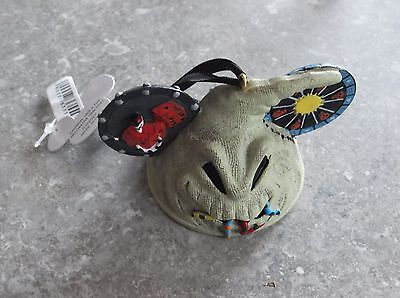 Disney Nightmare Before Christmas Tree Decoration Ornament Oogie Boogie Hat Ears