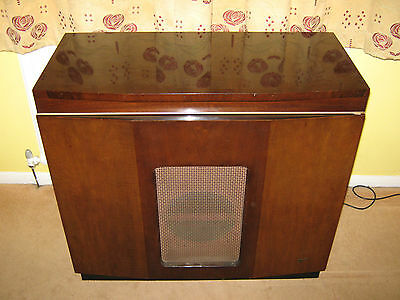 Marconiphone valve radiogram - 1954 model. Professionally restored. Beautiful!