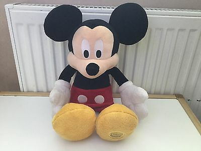 Large Mickey Mouse OFFICIAL DISNEY STORE Soft Plush Toy Clubhouse