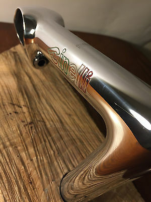 Vintage Cinelli Pantograph 1A 125mm 26.4 Quill Stem Italian Made Mirror Polished