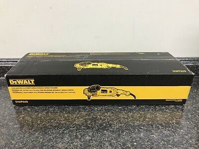 """Dewalt Dwp849 12Amp 7""""/9"""" (180/230Mm) Right Angle Variable Speed Polisher H66983"""