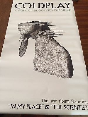 COLDPLAY A Rush of Blood to the Head large vinyl banner poster