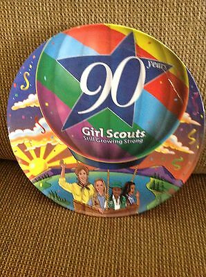 Girl Scout 90th Anniversary Plate