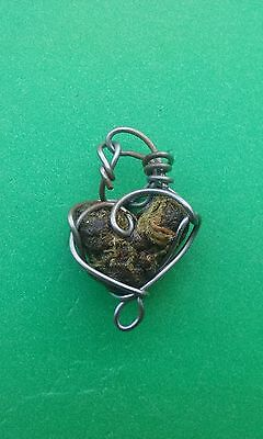 Love Buds Wire Wrapped Faux Cannabis Necklace Made in Oregon Free Shipping!
