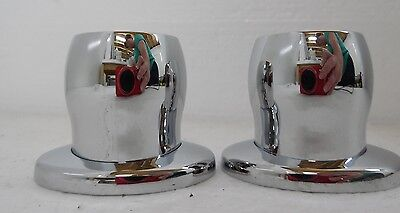 Nuovo 1711.01 Shower Curtain Rod Holder Pair Polished Chrome