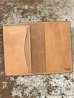 NEW Tanner Goods Notebook Cover (3.5oz Natural Tooling Leather)