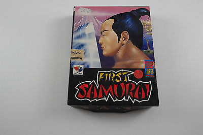 First Samurai A Image Works Game for the Commodore Amiga Computer tested&working