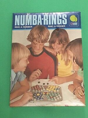Vntg 1976 Israel Numba-Number Rings By Orda Complete By Philipp Wehner NIB