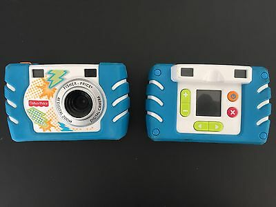 Fisher Price Kid Tough Digital Camera Blue - Works