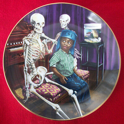 Skeleton Crew Collector Plate THE LITTLE RASCALS (Rare) - only 10 firing days