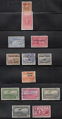 Costa Rica 1922-34  Mint and used air and semi-postal collection. Mostly sound.