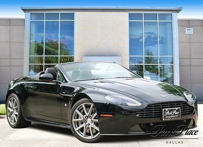 2015 Aston Martin Vantage GT Convertible 2-Door 2015 Convertible Used Premium Unleaded V-8 4.7 L/289 Manual RWD Black