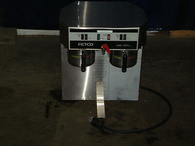 Heavy Duty Commercial Fetco Dual Airpot Coffee Brewer