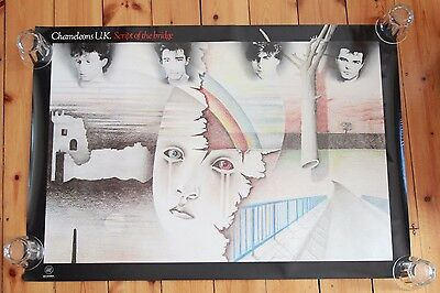 "Chameleons UK - Script Of The Bridge - PROMO Poster 1984 ""VERY RARE"" SEE NOTES!"