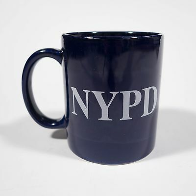 NYPD Coffee Mug Blue New York City Police Department Cup