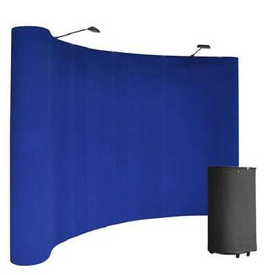 8' Show 'N Rise Curved Floor Kit BLUE
