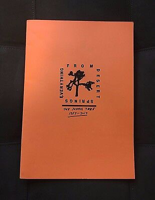 U2 From Desert Springs Everything Zine Joshua Tree RSD Record Store Day Rare