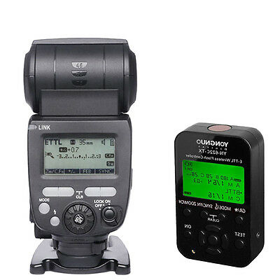 Yongnuo YN685C Wireless TTL Flash Speedlite + YN-622C-TX Controller for Canon US