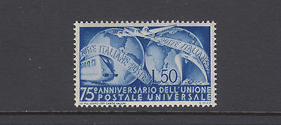 Italy Sc 514 UPU 75th Anniversary Mint Never Hinged
