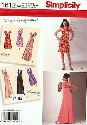Simplicity Pattern 1612 Gown Sized to Fit My Size Barbie