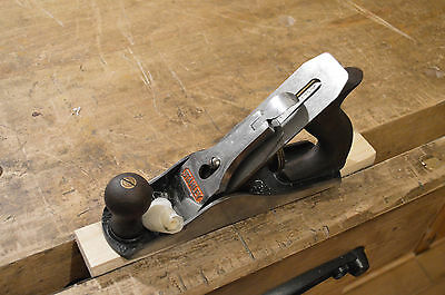 Stanley No. 3 Putz Hobel Made in England / Smoothing Plane Ready to Use!