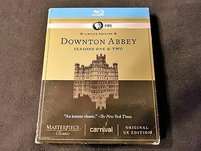 Downtown Abbey Season 1 & 2 Blu ray Set