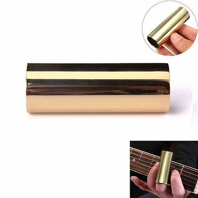 60mm Brass Finger Slide Steel Musical Instrument Accessory Guitar String Tool