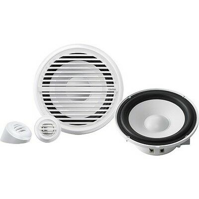 "CLARION CMG1622S 6.5"" Inch 120 Watt 2-Way Component Marine Boat Speakers Pair"