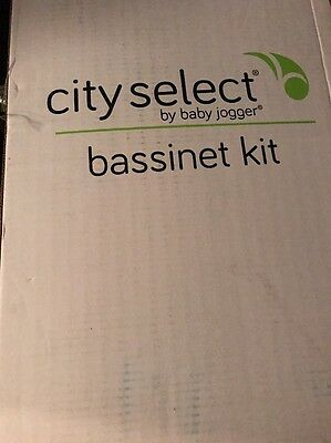 Baby Jogger City Select Bassinet Kit - Black - New! Free Shipping!