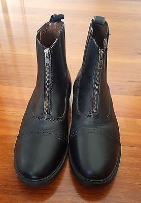 UNICORN Riding Boots - worn once - As NEW - Womens size 9.5 or Mens 8