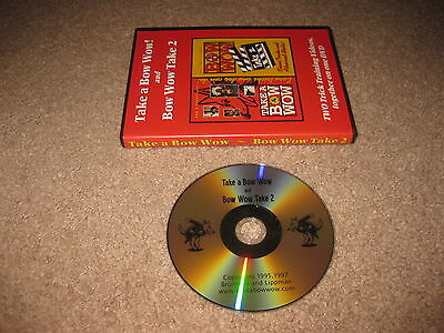 Take A Bow Wow & Bow Wow Take 2 - DVD - Two Dog Training Videos on One Disc!