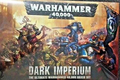 Warhammer 40K  DARK IMPERIUM Starter Set (Marines, Death Guard, HC Rulebook, etc