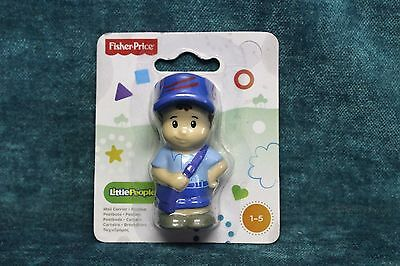 NEW Fisher Price Little People Community Helper Mail Carrier Factory Sealed