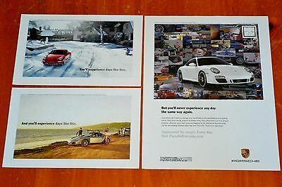 Cool 2011 Porsche Carrera Gts & Cayman S American Ad - Sports Exotic Car