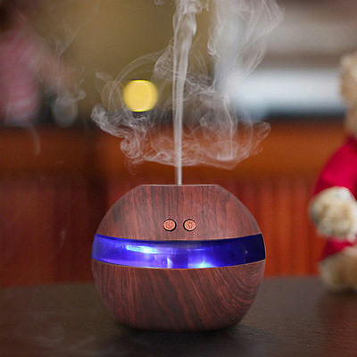 LED 300ml USB Ultrasonic Aroma Diffuser Essential Oil Humidifier Aromatherapy