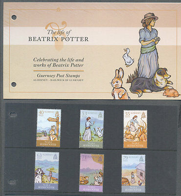 Alderney-Beatrix Potter  set & presentation pack-Literature-Authors