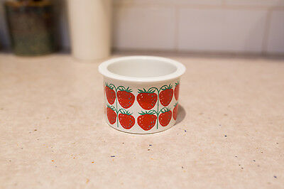 Vintage Arabia Finland Jam Jar Strawberries