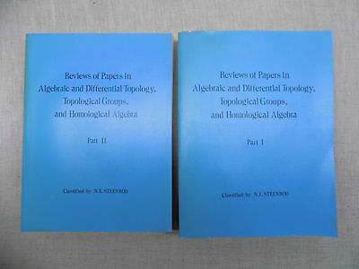 REVIEWS OF PAPERS IN ALGEBRAIC AND DIFFERENTIAL TOPOLOGY...2t.  Mathématiques