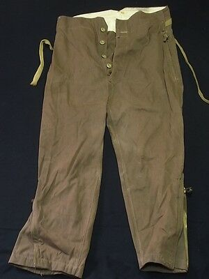 q31 WWII original Japanese Army Pilot summer flight pants1944