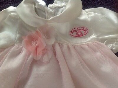 Baby Annabell Dolls Christening Outfit - Dress And Hat - Zapf Creations