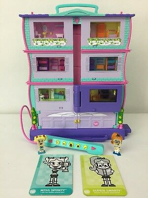 Mattel Pixel Chix Roomies Electronic House With Different Interactive Rooms