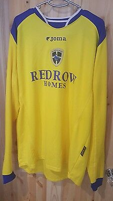 Cardiff City FC Football Shirt Joma long sleeves size xl