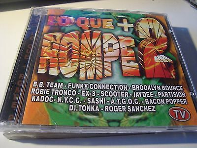 Rar 2 Cd's. Lo Que + Rompe 2. B.b.team, Funky Connection, Scooter. Boy Records