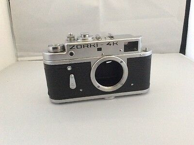 ZORKI 4K body, rangefinder camera  based on Leica, from 1975 Great Condition