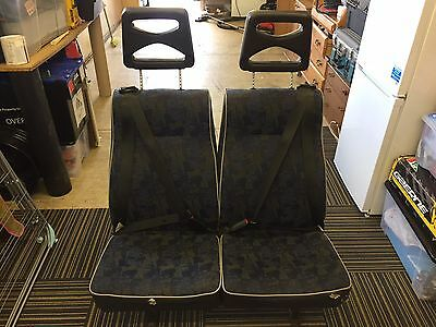 Generic Rear Van Seats With Seat Belts (Collection Only)
