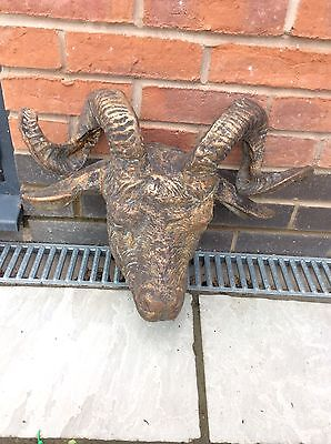 Large Cast iron Heavy rams head
