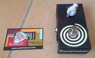 Jam Pedals Boomster A transparent silicon Booster pedal NEW