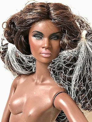 Fashion Royalty Nu Face 2.0 I Slay Nadja Doll Nude 12.5 Inch