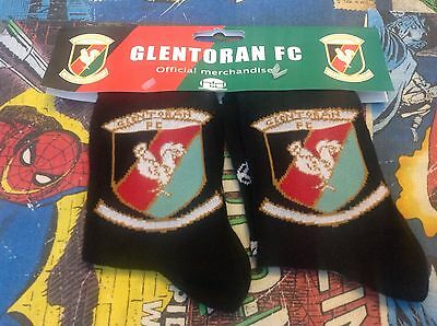 Brand New Glentoran Fc Socks - Irish League - Northern Ireland - Football