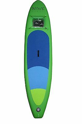 Wave Hawaii Vista Air 11'0 Inflatable Stand Up Paddle-Board ISUP Sichtfenster